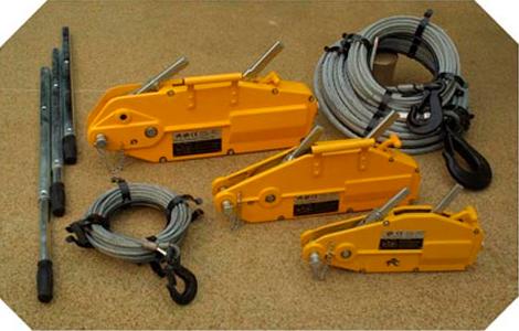 Goodwinch GP2 Handwinch, 2.5 tonne nominal, c/w 20m x 11mm wire rope